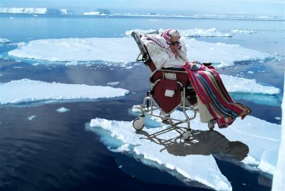 President Obama, don't put 'Puter's Granny on an ice floe!