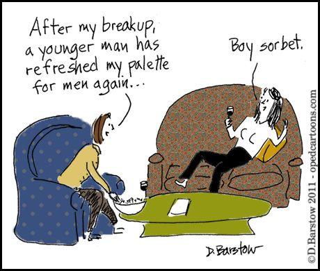 Woman affair older Dear Bossip: