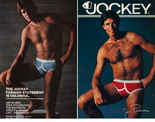 Jim Palmer in His Jockey Ads