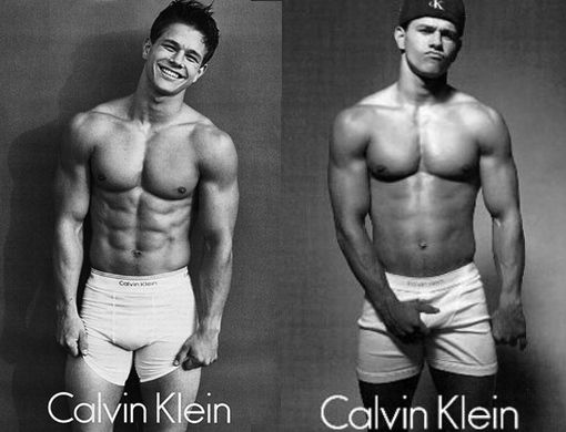 Mark Wahlberg ad for Calvin Klein
