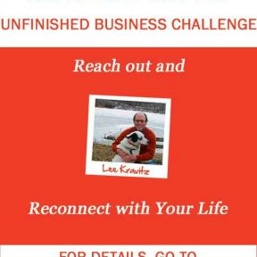Take the 30-Day Unfinished Business Challenge